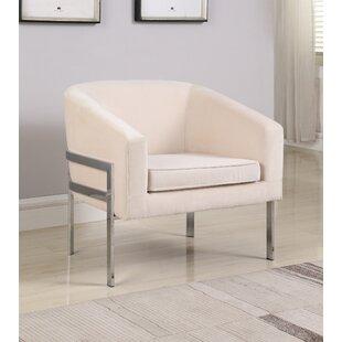 Winsor Barrel Chair by Orren Ellis