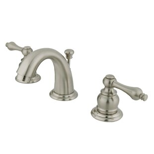 Reviews English Country Widespread Bathroom Faucet with Drain Assembly ByKingston Brass