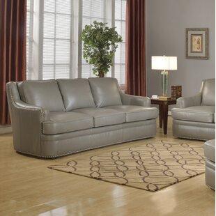 Dreyer Leather Sofa ByCanora Grey