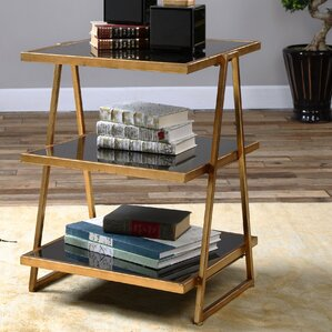 Brocklehurst Glass End Table by Willa ..