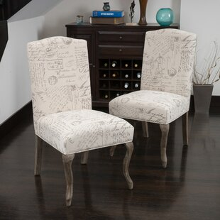 LaSalle Upholstered Dining Chair (Set of 2) (Set of 2) by Lark Manor