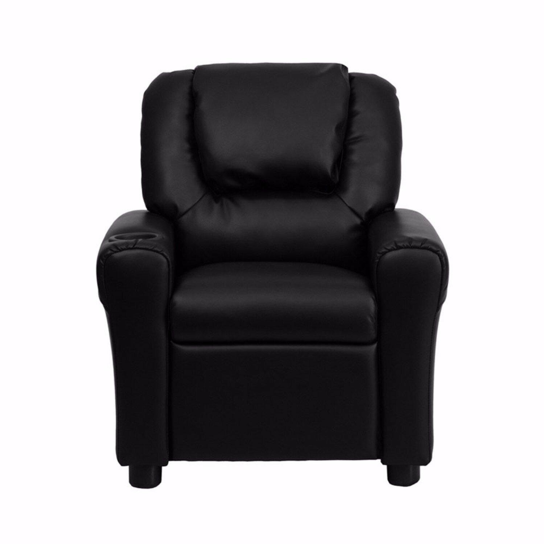 Ordinaire Zoomie Kids Heiser Kids Leather Chair | Wayfair