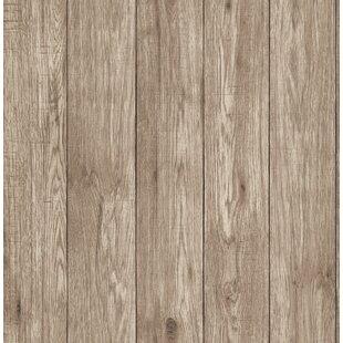 Elswick Lumber Wood 33 L X 20 5 W Wallpaper Roll