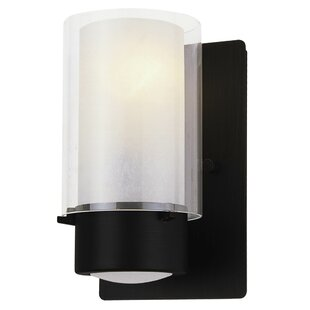 Read Reviews Sontag 1-Light Wall Sconce By Latitude Run