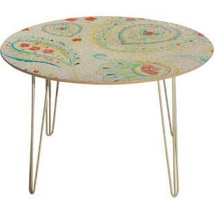 Jacqueline Maldonado Watercolor Paisley Dining Table