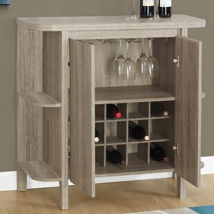 Keshia Guffey Bar with Wine Storage by Zipcode Design