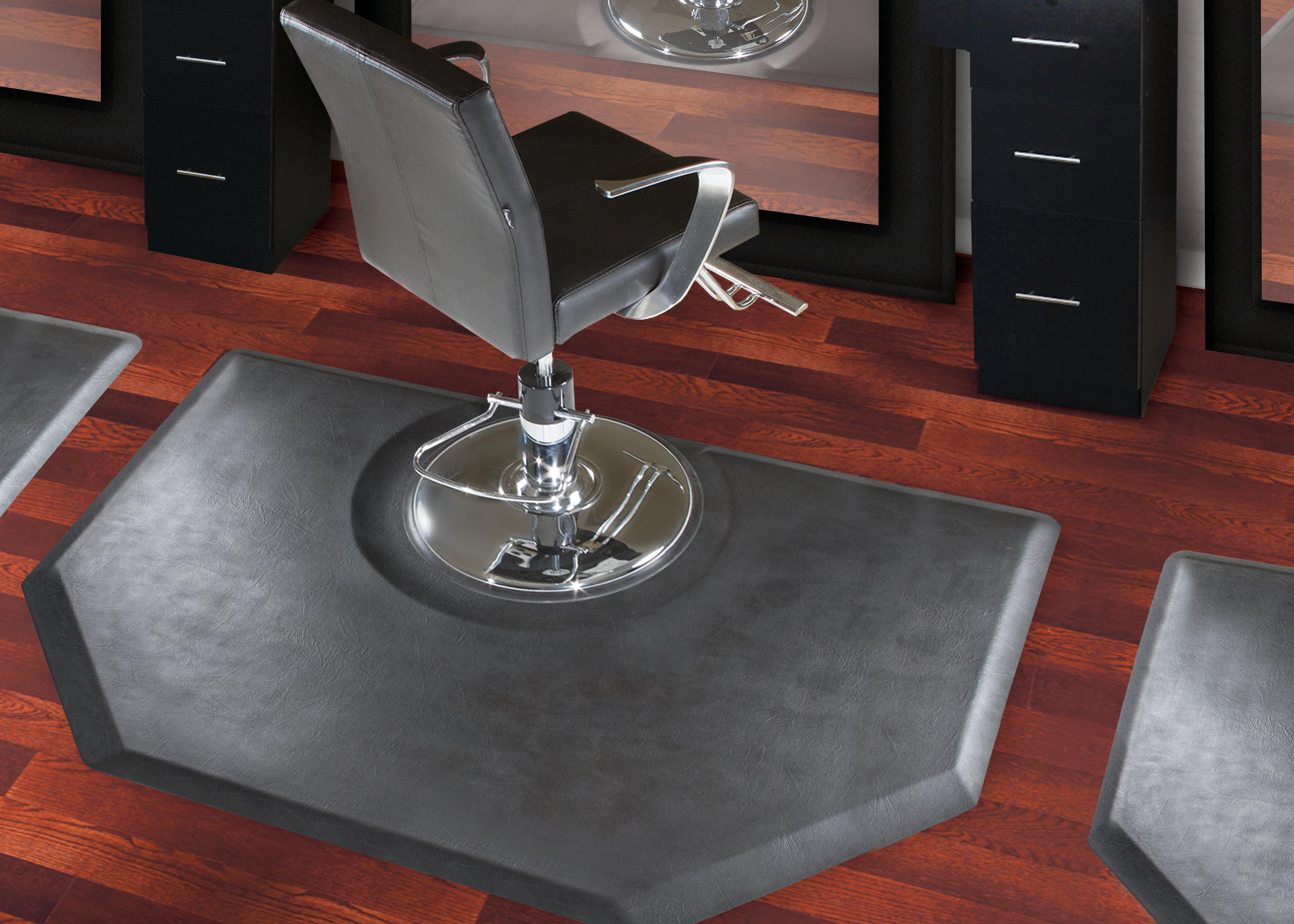 hollowell beveled rectangular chair mat