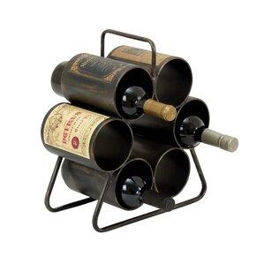 lansford 6bottle tabletop wine rack
