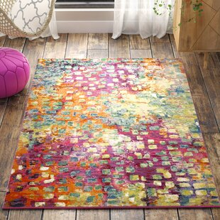 Ghandour Pink/Green/Yellow Area Rug by Latitude Vive