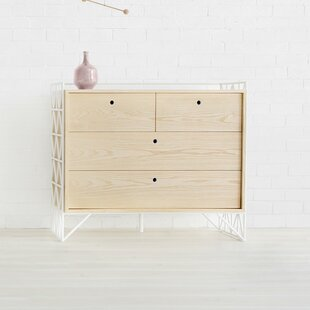 Clearance Mod 4 Drawer Dresser by Ubabub Reviews (2019) & Buyer's Guide