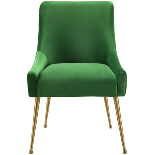 Dorene Upholstered Dining Chair by Everly Quinn