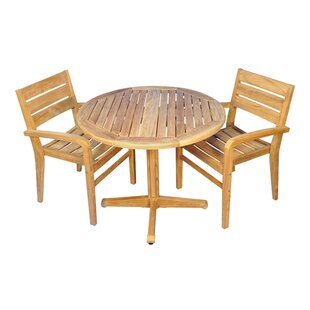Regal Teak Savannah 3 Piece Teak Dining Set