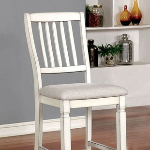 Gage Counter Height Dining Chair (Set of 2) Rosecliff Heights