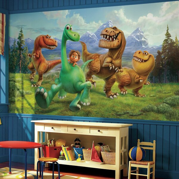 Room Mates The Good Dinosaur Chair Rail Prepasted 6 X 10