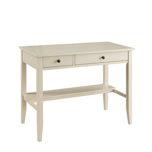 Affordable Lundgren Desk with Charging Station by Andover Mills