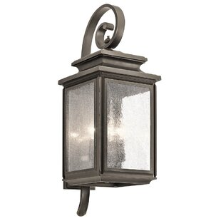 Best Reviews Wiscombe Park 4-Light Outdoor Wall Lantern By Kichler