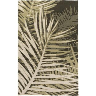 Fort Forest Hand-Tufted Olive Forest/Beige/Black Indoor/Outdoor Area Rug
