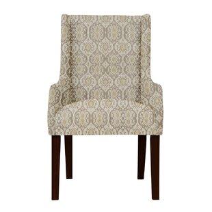 Red Barrel Studio Larrabee Beige Arm Chair