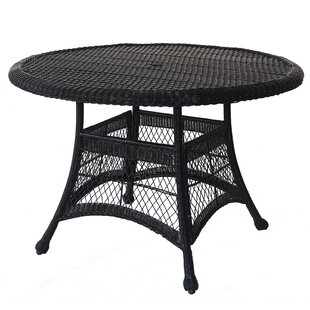 Starcher Wicker/Rattan Dining Table