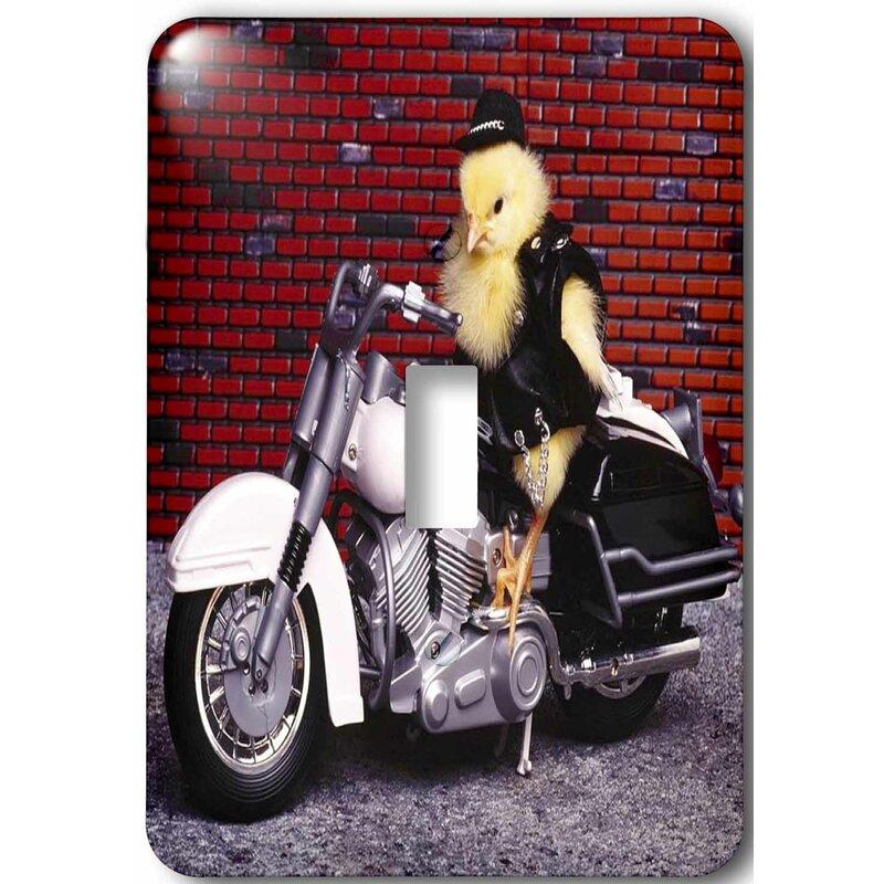 3drose Funny Biker Chick 1 Gang Toggle Light Switch Wall Plate Wayfair