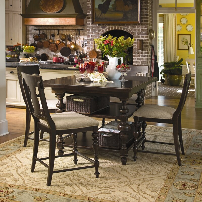 paula deen home sweet tea 5 piece dining set & reviews | wayfair