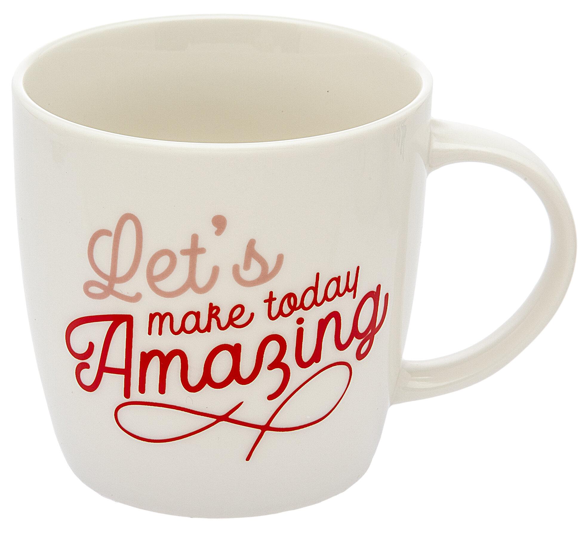 Godinger Silver Art Co Sayings Coffee Mug Wayfair