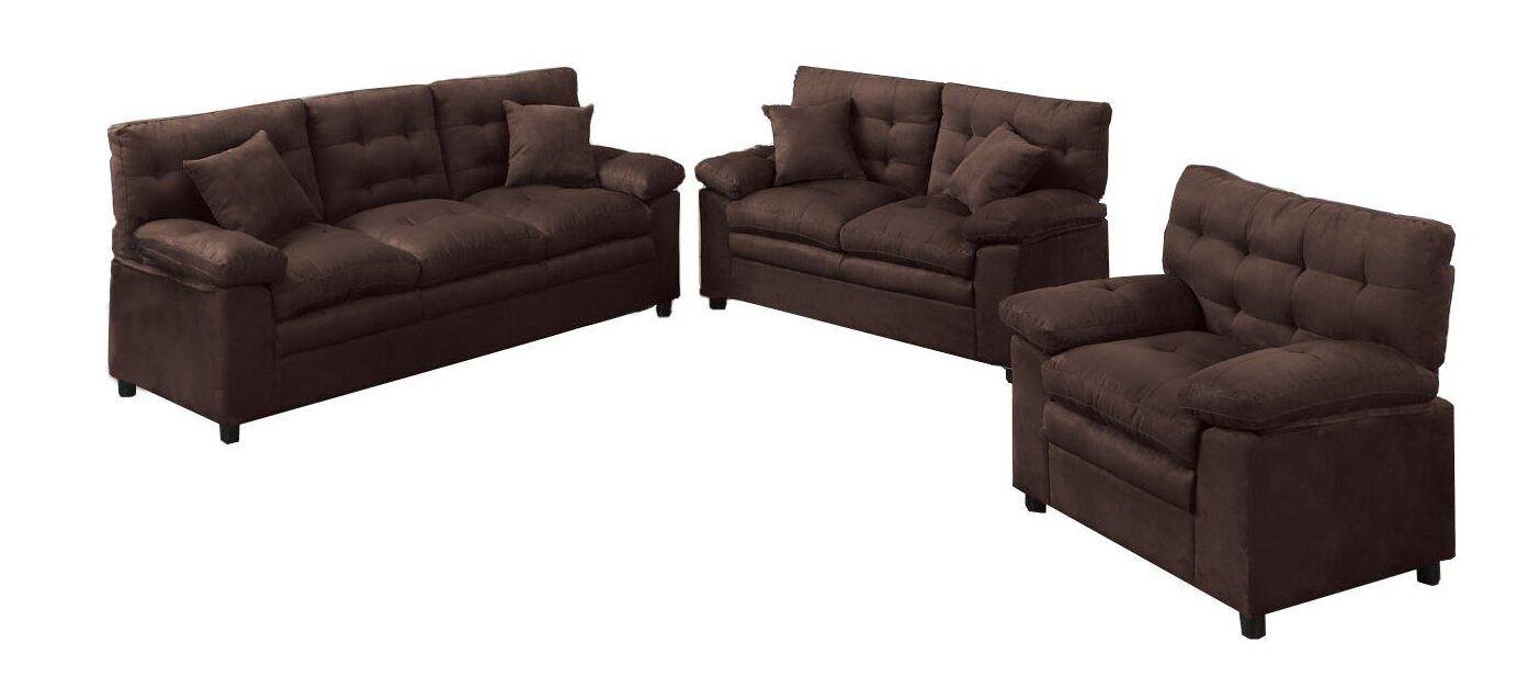 Living Room Sets Under 800 red barrel studio kingsport 3 piece living room set & reviews