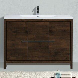 Almendarez 47 Single Bathroom Vanity Set