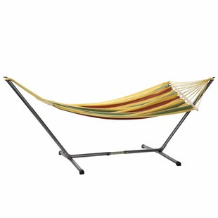 Mills Jet Cotton Hammock with Stand by The Holiday Aisle