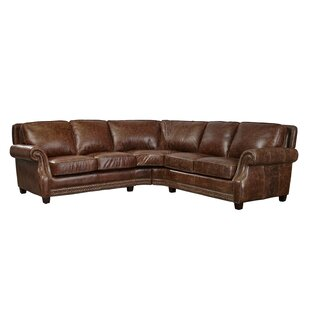 Minor Leather Sectional by..