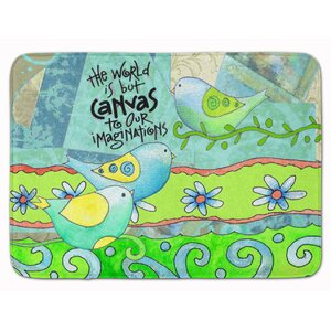 Devon The World is Canvas to our Imagination Memory Foam Bath Rug