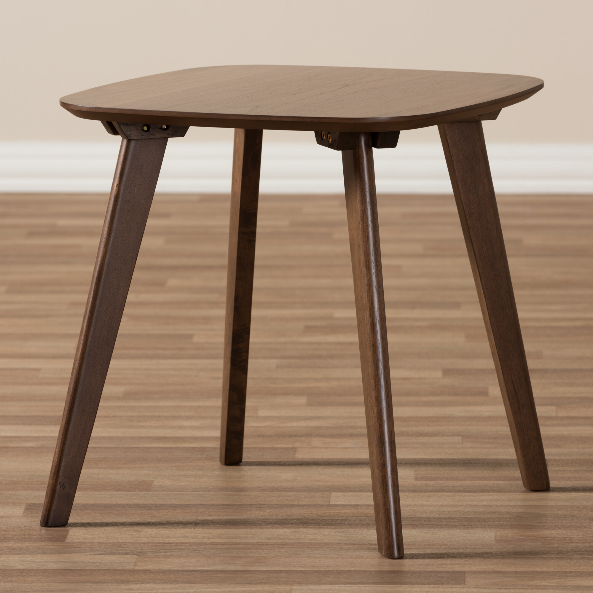 George Oliver Ripton Mid Century Modern Coffee Table: George Oliver Brokaw Mid-Century Modern Wood End Table