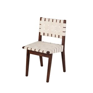 Woven Upholstered Dining Chair..