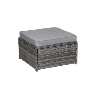 Montes Stool With Cushion By Bay Isle Home