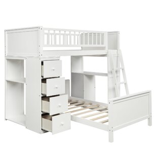 Beckenham Twin over FullLShaped Bunk Bed with 4 Drawers by Isabelle amp Max