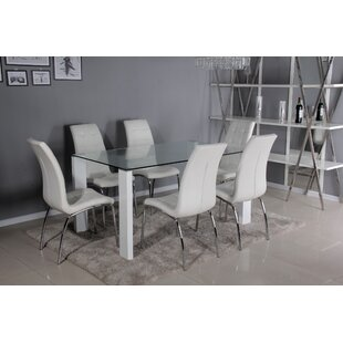 Gorney Dining Set With 6 Chairs By Brayden Studio
