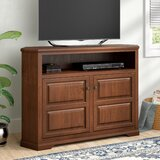 Wentzel Solid Wood Corner TV Stand for TVs up to 65 by Red Barrel Studio®