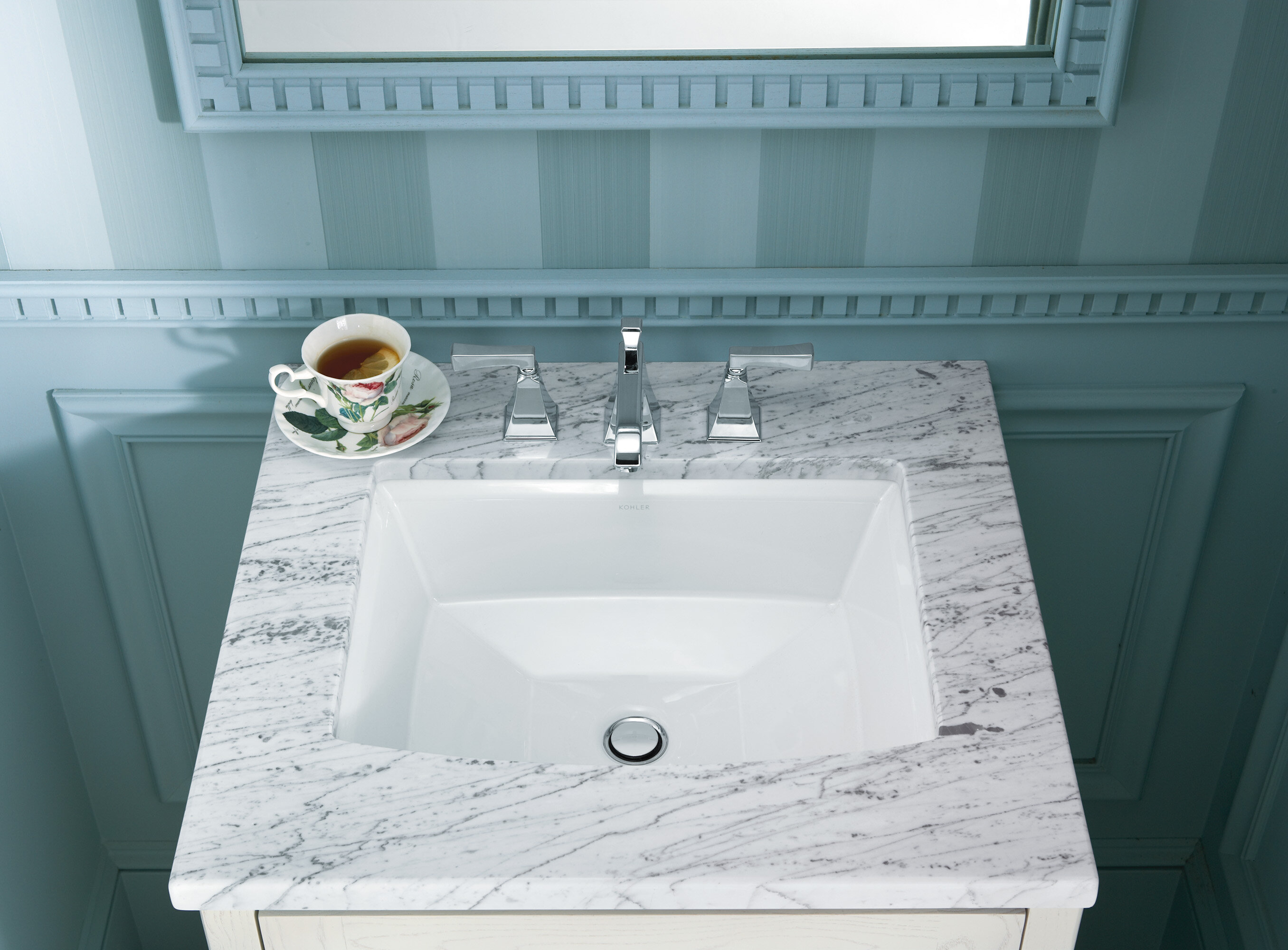 K 2355 0 33 47 Kohler Archer Ceramic Rectangular Undermount Bathroom Sink With Overflow Reviews Wayfair