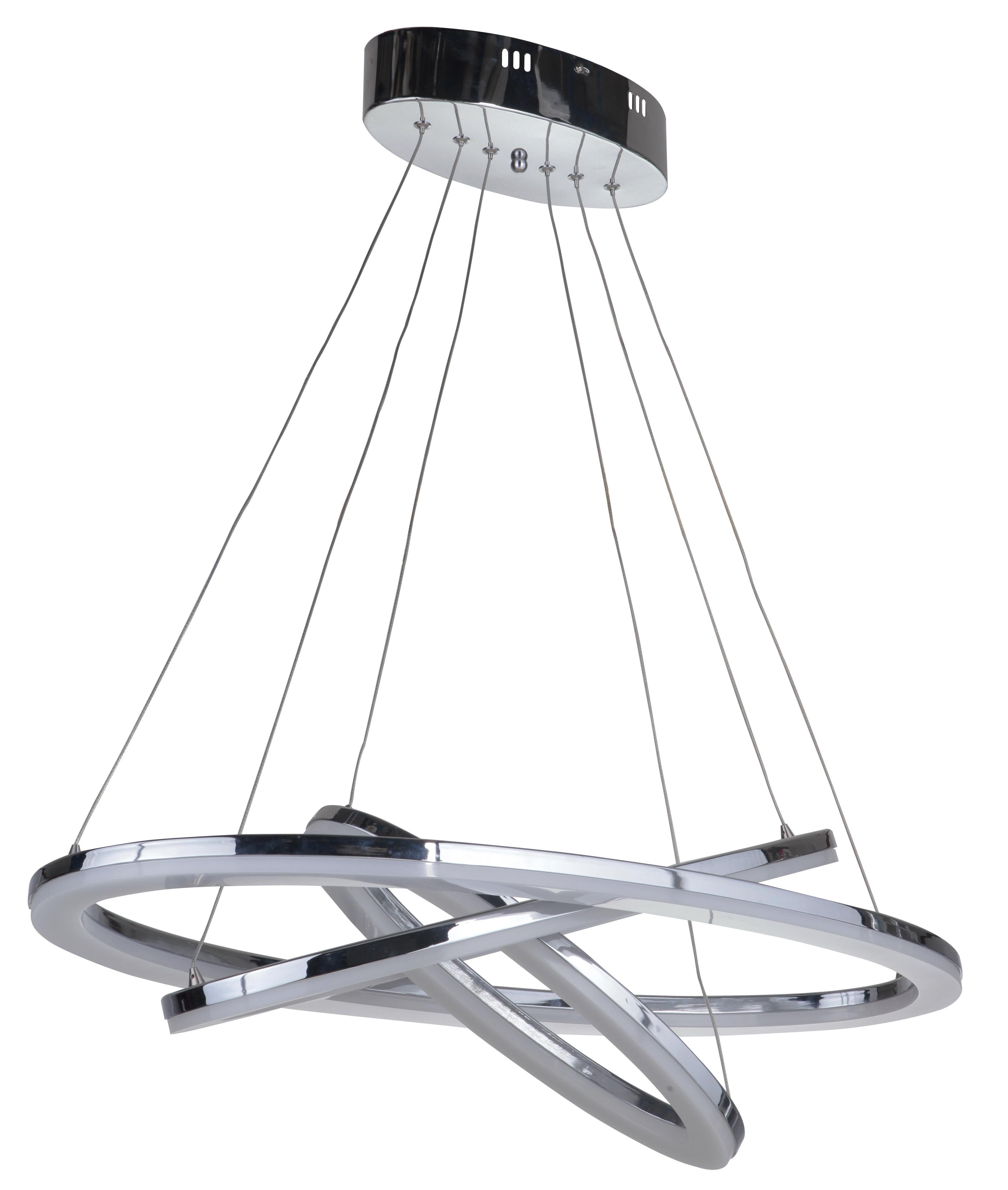 Orren Ellis Corinna 3 Light Led Unique Statement Geometric Chandelier Wayfair