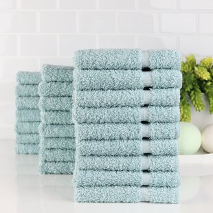 Imperial Plush Hand Towels White Six Pack 100/% Pure Cotton Salon Towels Hypoallergenic Hand Towel Set 6