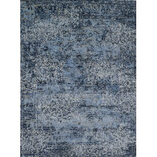 Aurora Light Blue Gray Area Rug