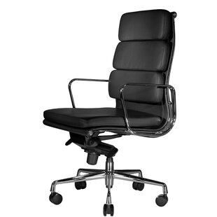 Wobi Office Clyde High-Back Leather Executive Chair