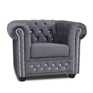 Sade Chesterfield Chair By Willa Arlo Interiors