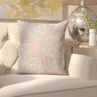 Birness Flower Throw Pillow