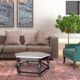 Bouchard Trestle Coffee Table by Gracie Oaks