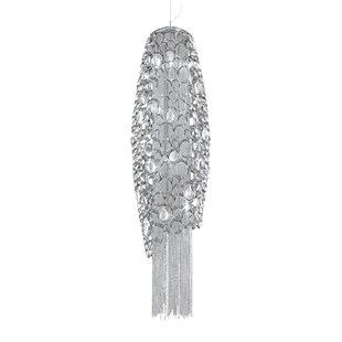 Orren Ellis Galnares 4-Light Cone Pendant
