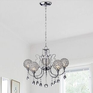 Best Choices Brinsmead 5-Light Chandelier By House of Hampton
