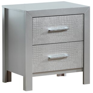 Compare Raye 2 Drawer Nightstand by Everly Quinn