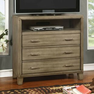 Poulsen Media 4 Drawer Chest by Union Rustic Wonderful