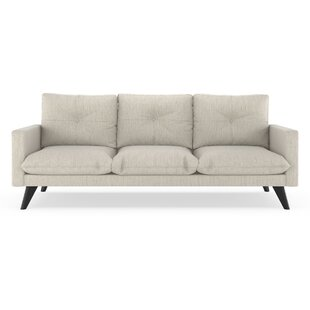 Crampton Satin Weave Sofa by Corrigan Studio